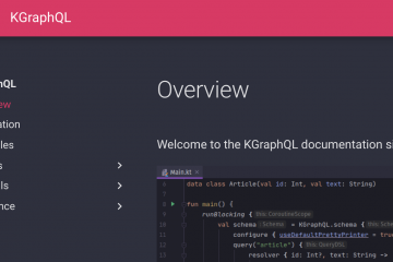 Kotlin > Ktor > KGraphQL Tutorial 1st Step